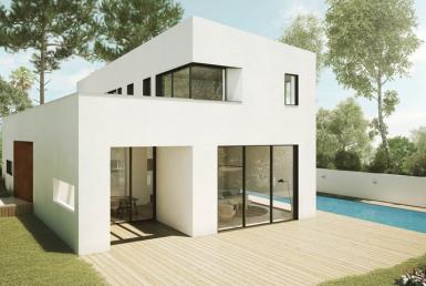7 pièces sur 3 étages , piscine, 372 m2