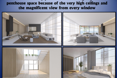 A VENDRE PENTHOUSE NEUF 6 PIECES - YAFFO