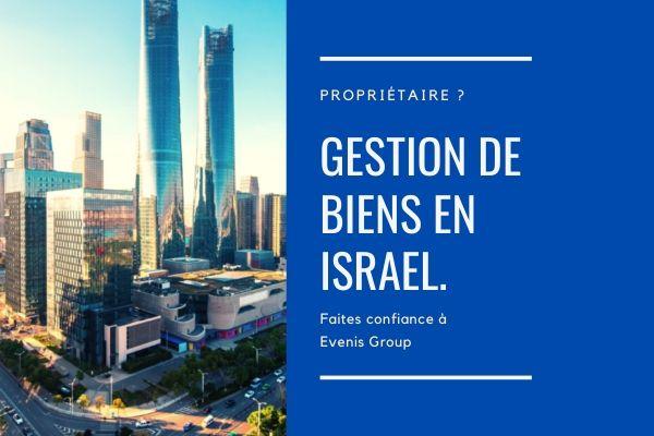 Gestion de biens en israel.