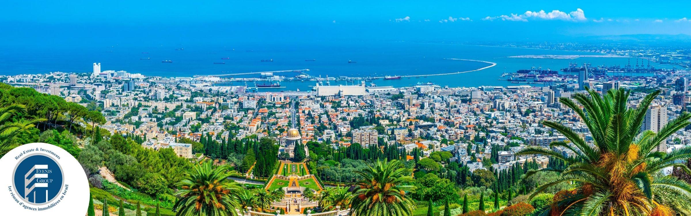 IMMOBILIER A HAIFA EN ISRAEL