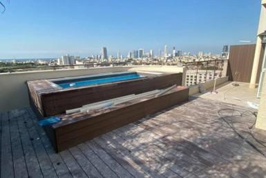 A LOUER   PENTHOUSE 4 PIÈCES   Kibutz Galuyot - Tel Aviv Sud