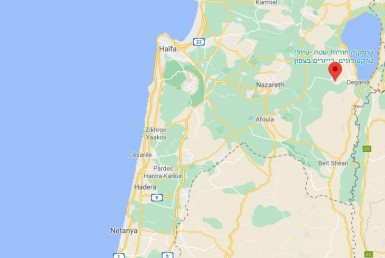 A VENDRE TERRAIN DANS LE CENTRE VILLE DE YAVNE'EL PROCHE DE TIBÉRIADE - ISRAËL *