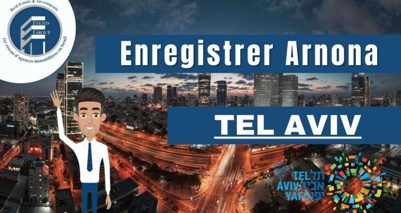 Comment Enregistrer la Arnona à Tel Aviv ?