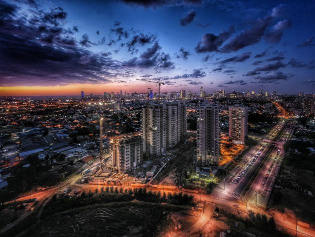 A VENDRE 5 PIÈCES DANS LE PROJET PARK TLV - MANAHEM BEGIN PARK A TEL AVIV